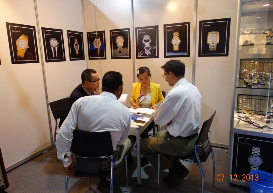 2013 Dubai International Jewellery fair