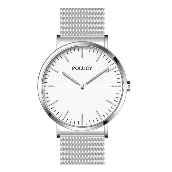 P6322L  Stainless Steel Mesh Case DW Watch