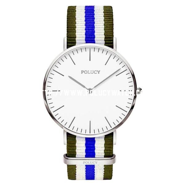 DW nylon style Men watch P6325M