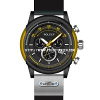 Silicone men watch P2940M