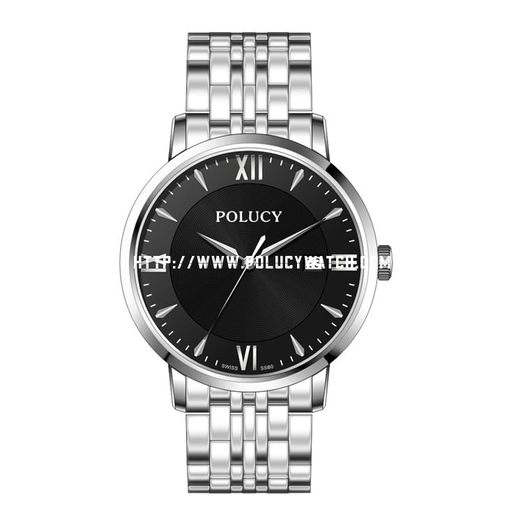 Men steel watch 61012M