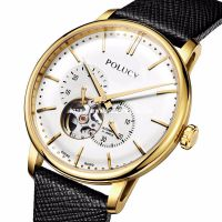 Skeleton Men Gold Watch 61082M