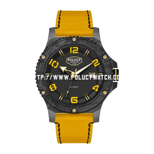 Carbon Fiber Case Watch P4800M