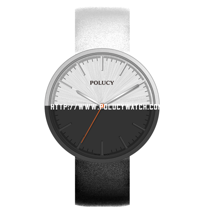 Simple quartz watch 61151M