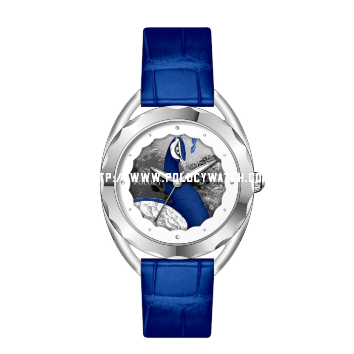 peacock Dial lady watch P7250L