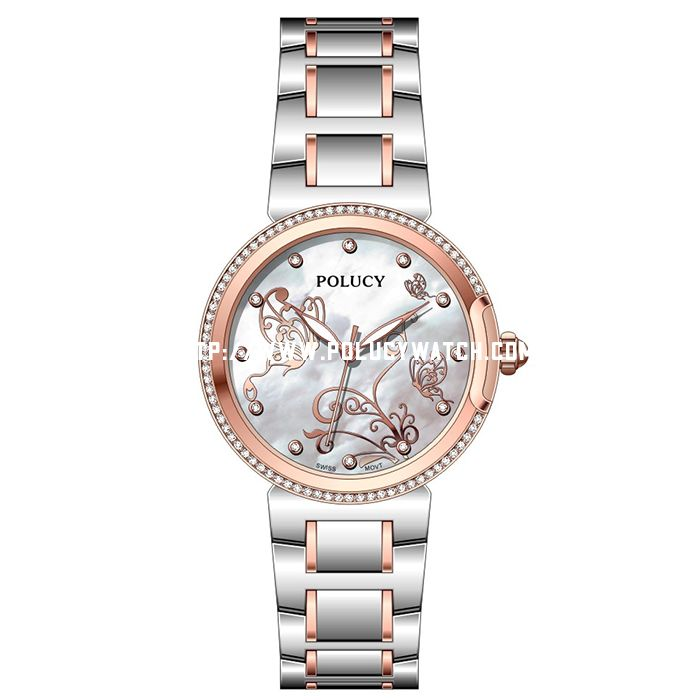 Lady simple stone watch PA110L