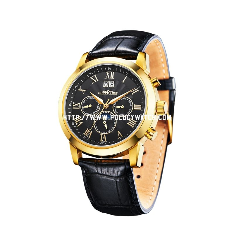 Automatic gold Watch 50122M