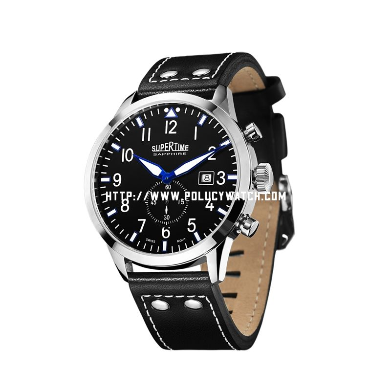 Sports leather Watch 34130M