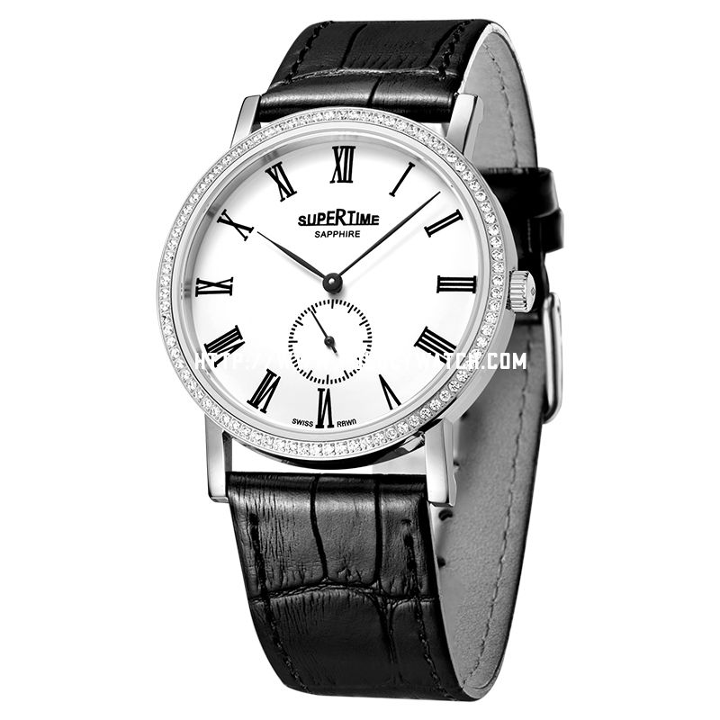 Simple Men Diamond watch 61022M