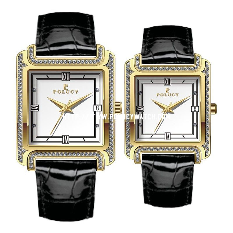 Gold Couple Watch 32307ML