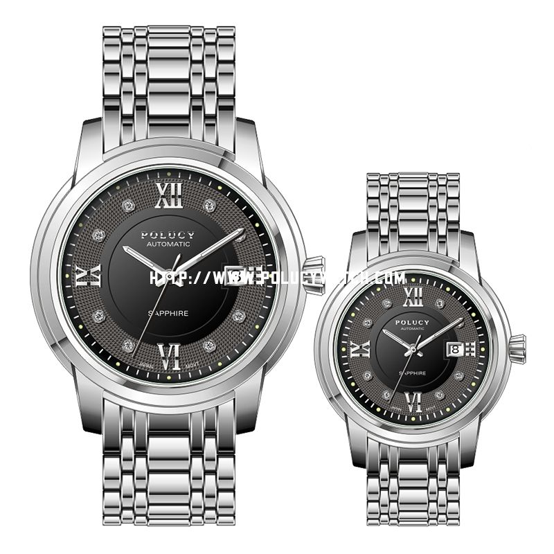 Stainless Steel Couple Watch 32520ML