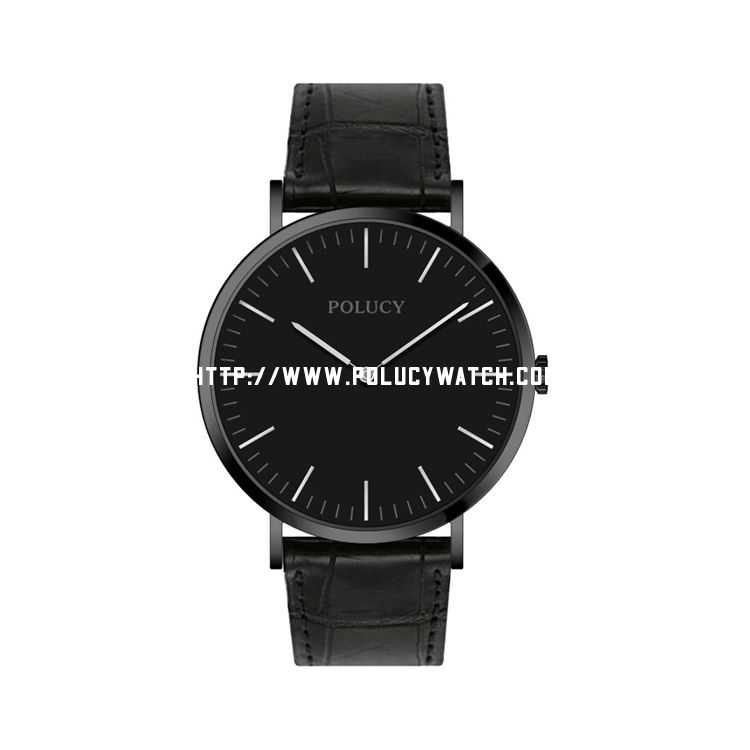 Leather Strap Men DW Watch P6321M