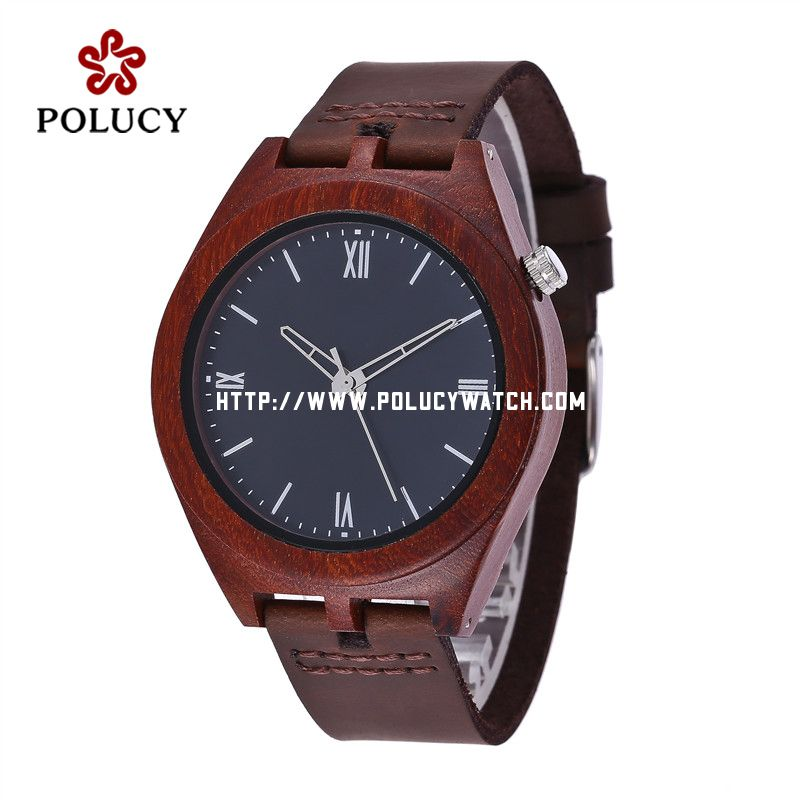 Red sandal Wood Watch PA750M1