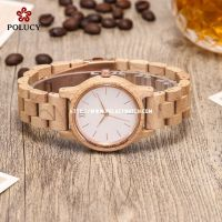 Maple Wood Simple Lady Watch PA790L