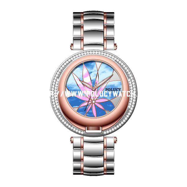 Steel Designed Lady Watch W6301L
