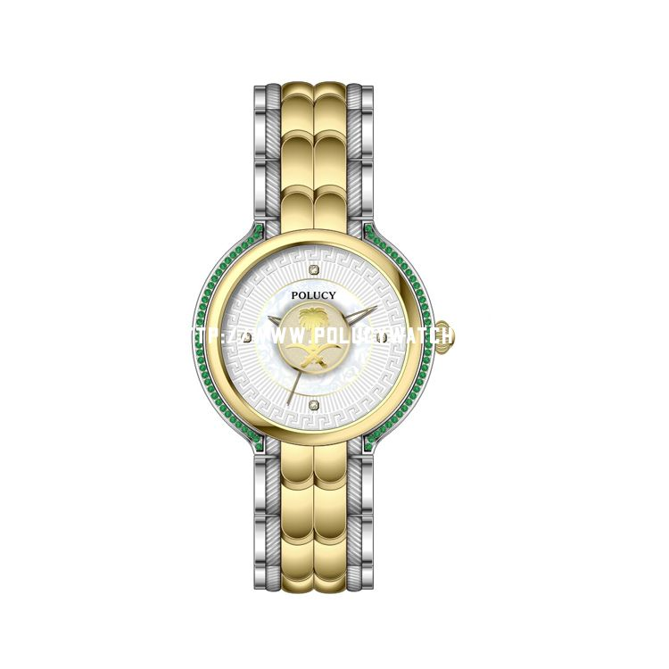 Custom Diamond Designed Watch P6040L